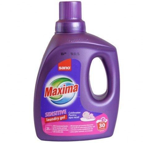 Sano Maxima Бебешки гел за пране - бебе Sensitive 2л.